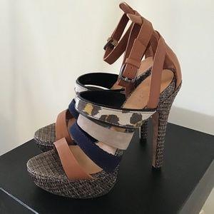 L.A.M.B Eben High Heel Sandal
